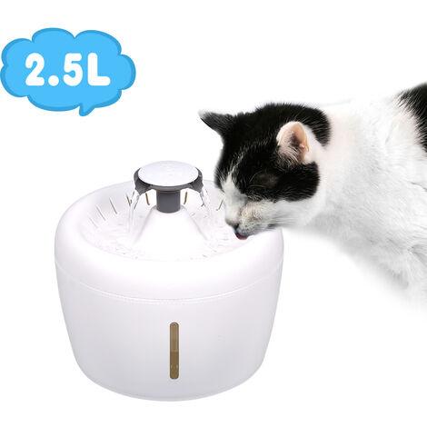 Reemplazo de la esponja del filtro flotante de la fuente de agua del gato, para la fuente de agua del animal domestico del els 1Set / 2PCS