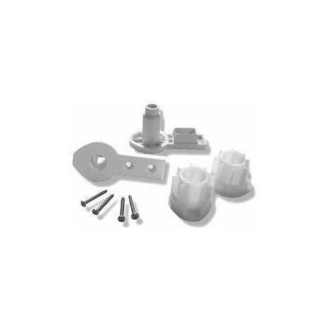 Reemplazo de las bisagras para la ducha NOVELLINI R04AUR | Blanco