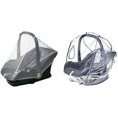 reer PEVA Regenschutz für Babyschale