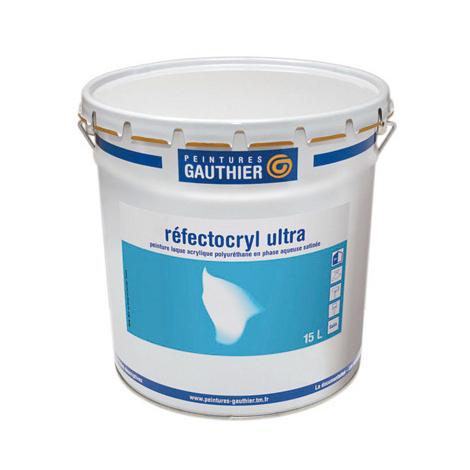 Refectocryl Ultra PEINTURE GAUTHIER - blanc - 3L - 53029