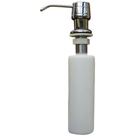 Refillable kitchen sink soap dispenser pump lotion