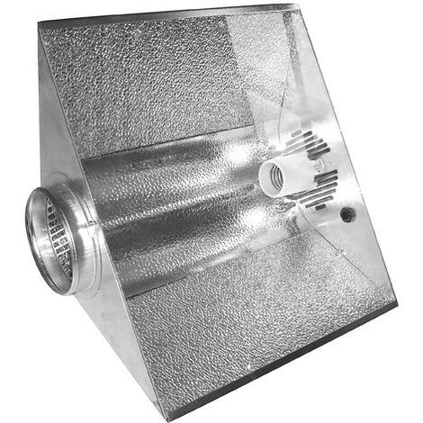 Reflecteur SPUTNIK 125mm vitré ventilé , ,douille E40, pour hps ou mh 150 à 1000w