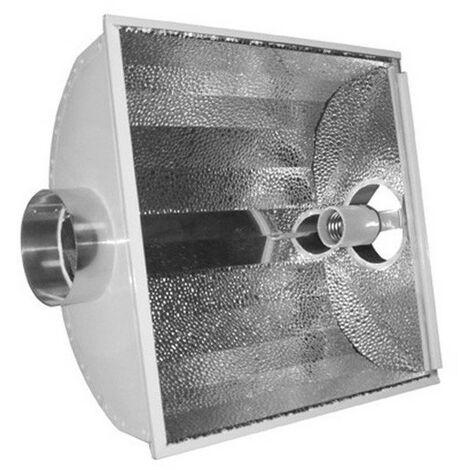 Réflecteur Xtracool V2 - 125 mm vitré et ventilé douille E40 pour HPS et MH