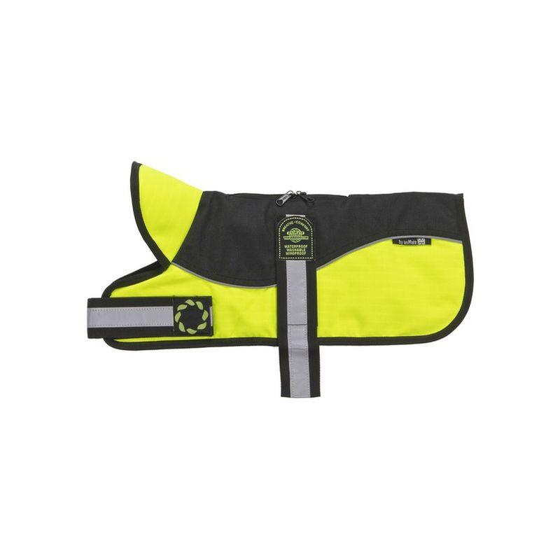 Image of Reflective Black Hi Viz Padded Harness Coat 30cm x 1 (260617)
