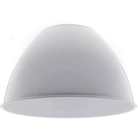 Reflector aluminio 60º para lámpara industrial, Ø174mm, blanco