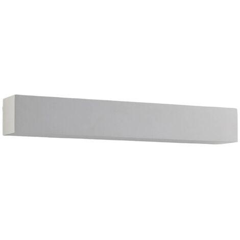 Reflector de pared LED de escayola Santino angular