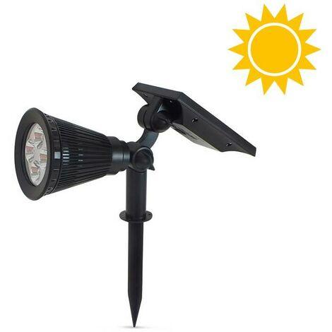 Reflector Solar con pincho para jardín 2W