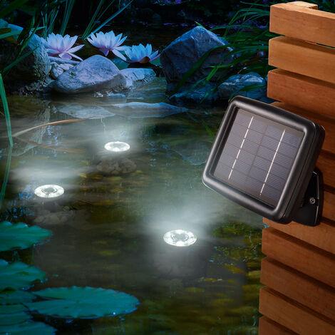 Reflector solar subacuático para la iluminación de estanques de jardín esotec 102148