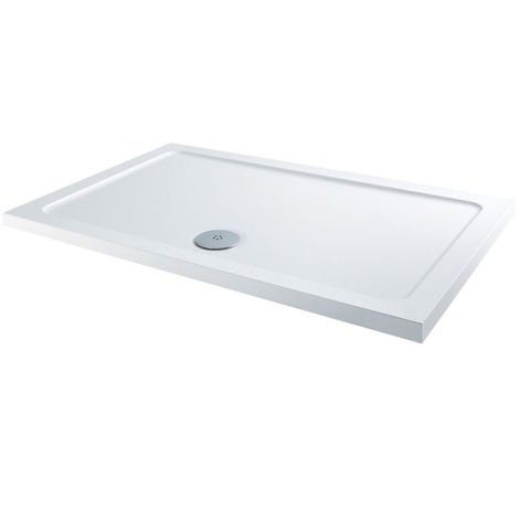 RefleXion 40mm Low Profile 1500x700mm Rectanglular Tray & Waste