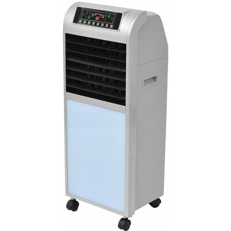 Refrigerador de aire 120 W 8 L 385 m³/h 37,5x35x94,5 cm - Plateado