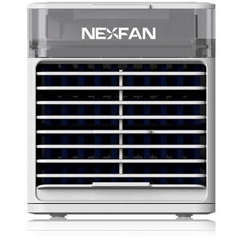Refrigerador de aire portatil, 3 velocidades,Blanco, con sistema de desinfeccion UV