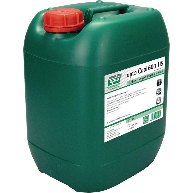 Lubrifiant réfrigérant haute performance Cool 600 HS miscible avec l'eau 10 l