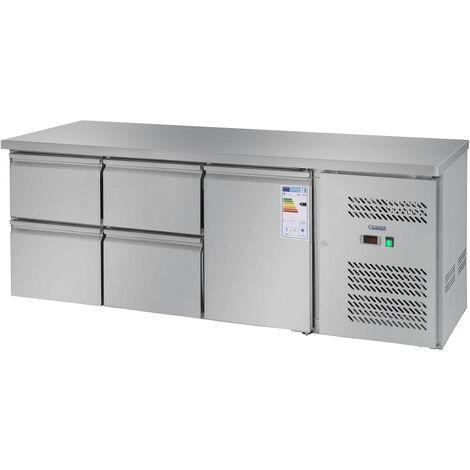 Réfrigérateur De Réfrigérateur De Plan De Travail Avec La Table Refroidissement