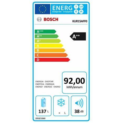 Réfrigérateur intégrable 1 porte Tout utile BOSCH - KUR15AFF0