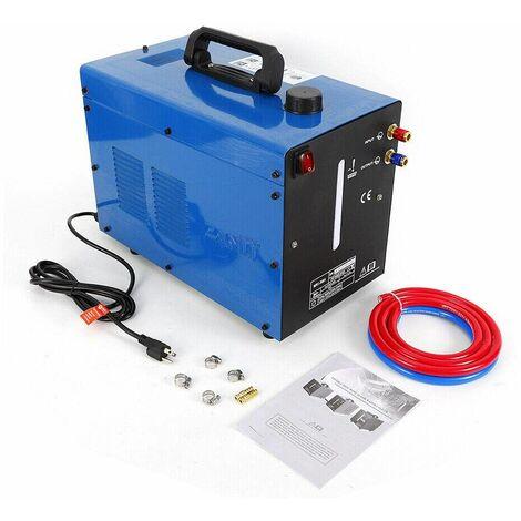 Refroidisseur à Eau pour Poste à Souder 10L Welder Water Cooler Refroidisseur Liquide 370W avec Poignée (BLEU)