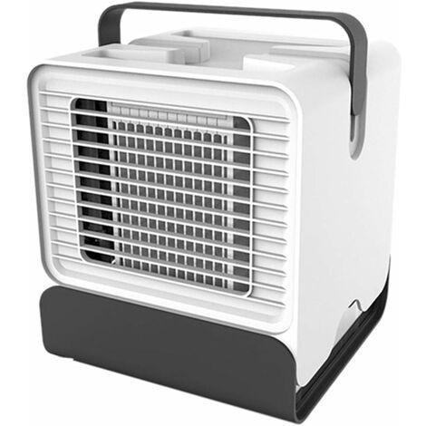 Refroidisseur D'air Climatiseur Portable usb Ventilateur de Table Mini Air Refroidisseur Purificateur pour Maison/Bureau/Camping