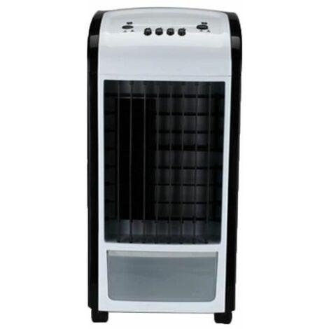 Refroidisseur d'air Ventilateur de climatisation à froid simple Ménage Noir, Petit Ventilateur de refroidissement Ventilateur d'air froid ajouter de l'eau Petit climatiseur