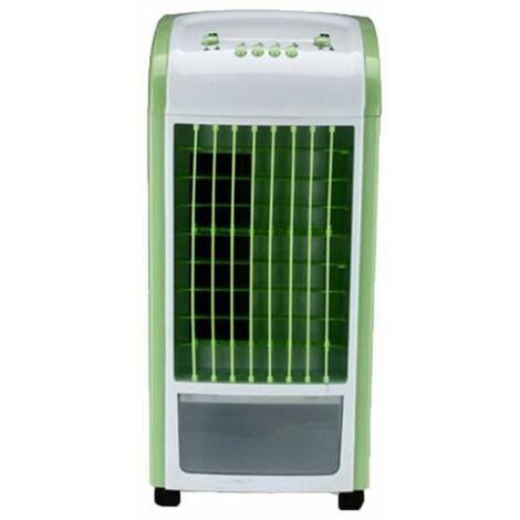 Refroidisseur d'air Ventilateur de climatisation à froid simple Ménage Vert Petit Ventilateur de refroidissement Ventilateur d'air froid ajouter de l'eau Petit climatiseur