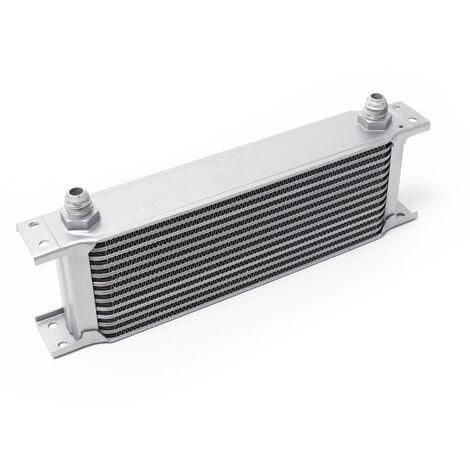 Refroidisseur d'huile pour moteur en Aluminium 13 Rangées d'ailettes Oil Cooler Radiateur