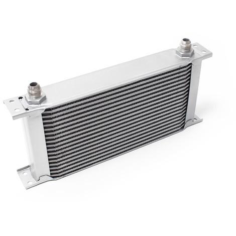 Refroidisseur d'huile pour moteur en Aluminium 19 Rangées d'ailettes Oil Cooler Radiateur