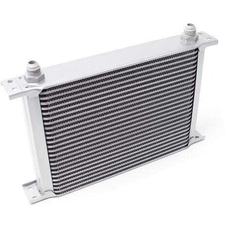 Refroidisseur d'huile pour moteur en Aluminium 25 Rangées d'ailettes Oil Cooler Radiateur