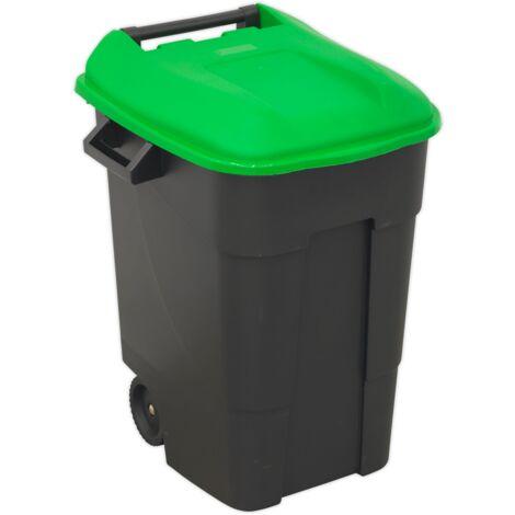 Refuse/Wheelie Bin 100ltr - Green