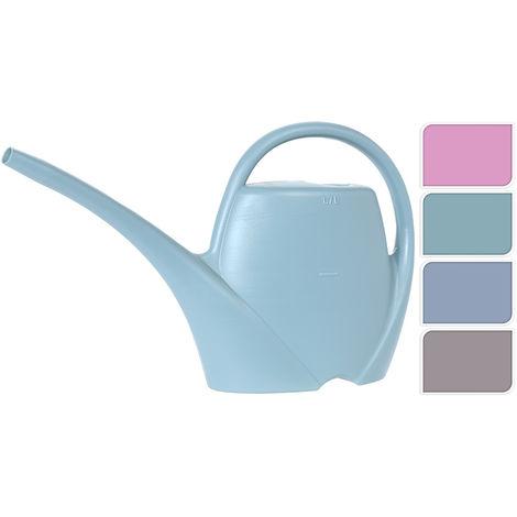 Regadera de plastico 1 litro azul
