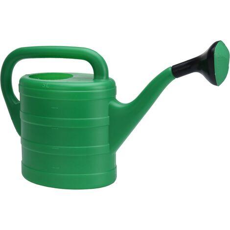 Regadera plastico 5 litros verde