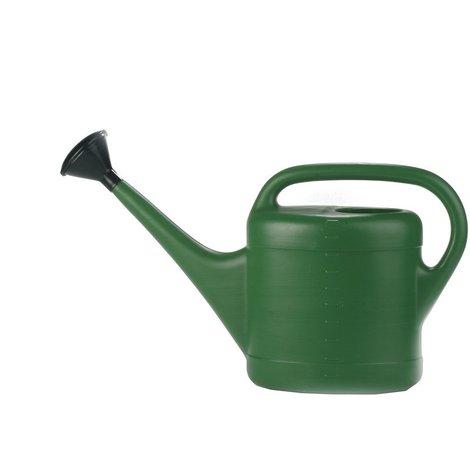 Regadera Spring de 5 litros en color verde con difusor en forma de ducha