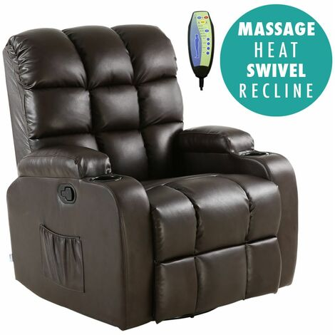 REGAL LEATHER RECLINER CHAIR - different colors available
