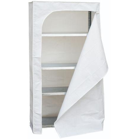 Regalbezug 1800X900X300 Weiß