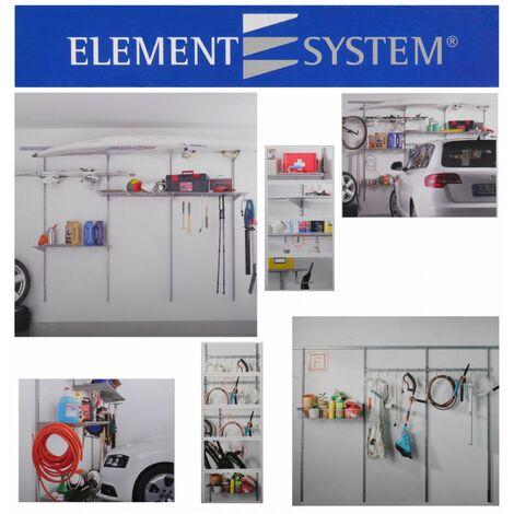 Regalsystem für Garage Modular Plus Basic Kit + Storage Set 1 + Storage Set 2