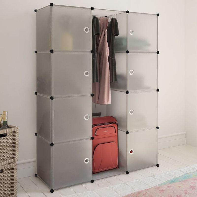 Bevorzugt Regalsystem Kleiderschrank für hängende Kleidung, Kombischrank QL29