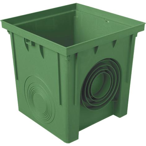 Regard polypropylène 250x250mm - Vert