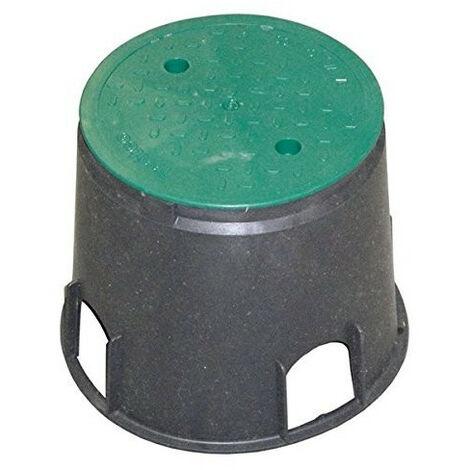 Regard pour vanne, forme rond de 30 cm de base et hauteur 25 cm.