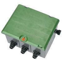 Regard pré-monté V3 collecteur 1 entrée (3 faces) - 3 sorties pour électrovannes 9 ou 24V GARDENA 1257-20