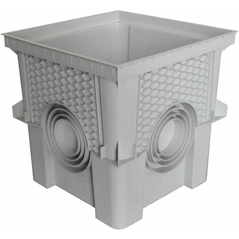 Regard / Réhausse 30 x 30cm collecteur des eaux pluviales (livré sans Couvercle, Dispo sur Le site: Article Couvercle COR30 ou COD30)
