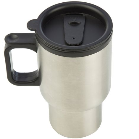 Regatta Great Outdoors Stainless Steel Commuter Mug (One Size) (Silver)