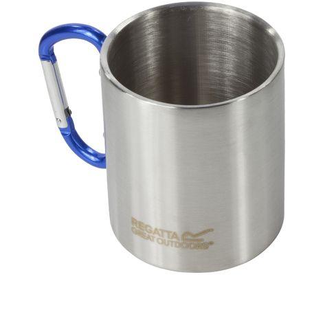 Regatta Great Outdoors Steel Karabiner Mug/Cup (One Size) (Silver)