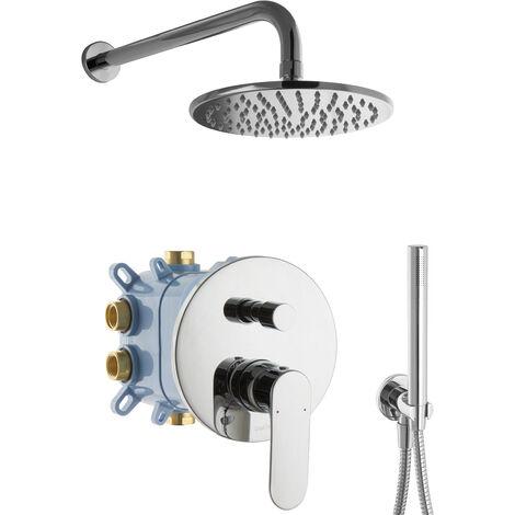 Regendusche Duschsystem Komplett Set Unterputz
