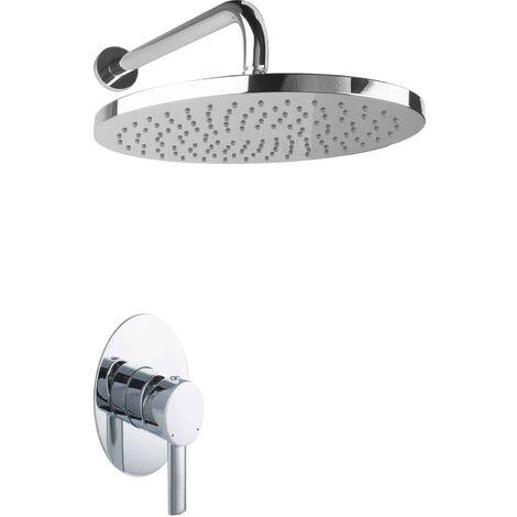 Regendusche Unterputz Dusch Set oval