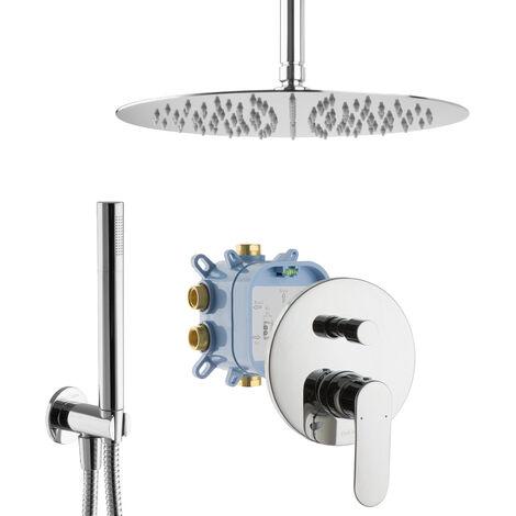 Regendusche Unterputz Set Komplett Duschsystem 30cm