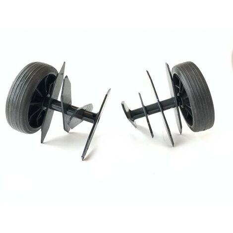 Régénérateur de gazon motobineuse Staub mécabeche - maxibeche