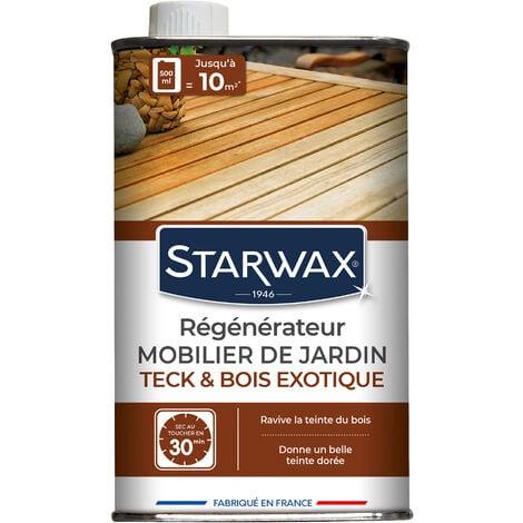 """main image of """"Régénérateur teck et bois exotiques pour mobilier de jardin 500ml STARWAX"""""""