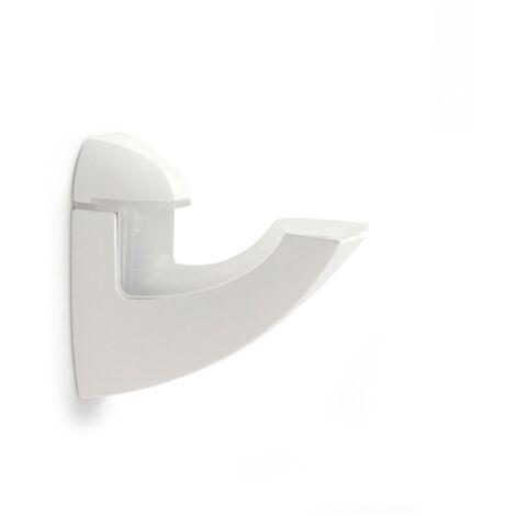 """main image of """"Reggimensola regolabile per vetro e legno, LADY SHOE XL, in Zama, Bianco Satinato. Marchio REI"""""""