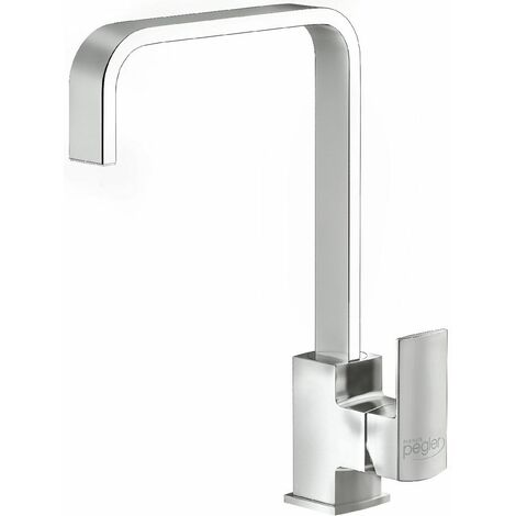 Reginox Astoria Kitchen Sink Tap Chrome Swivel Spout Mixer Monobloc Single Lever