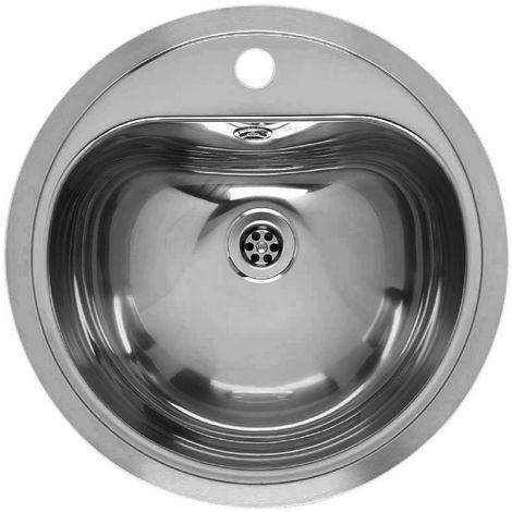 "main image of ""Reginox Atlantis Stainless Steel Single Bowl Sink"""