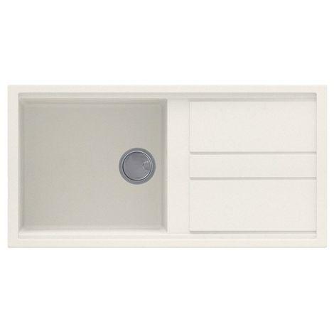 Reginox Best 480 Granite Cream Single Bowl Reversible Sink