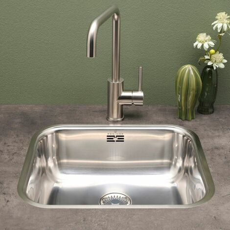Reginox Colorado Stainless Steel Kitchen Sink 1 Bowl Undermount