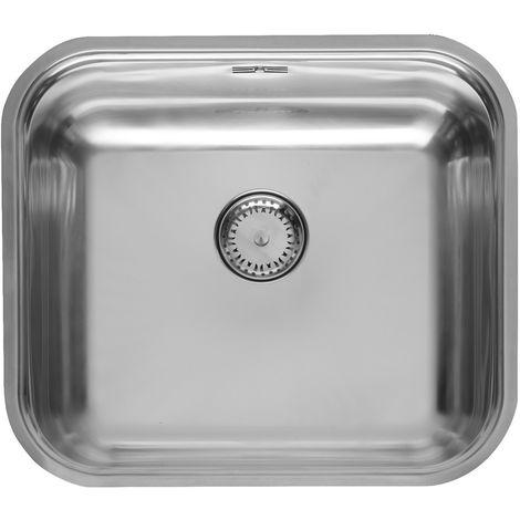 Reginox Colorado Stainless Steel Single Bowl Integrated Kitchen Sink